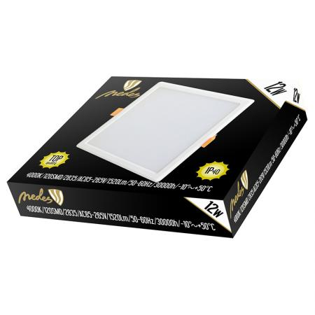 LED panel HV 12W/PS/SMD/4000K/WH - LPL223H
