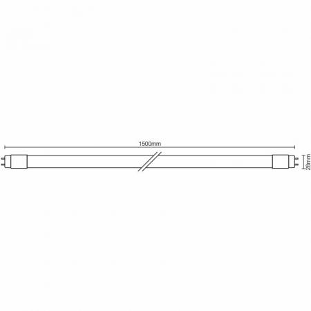 LED trubica 22W - T8/1500mm/6500K - TLS203