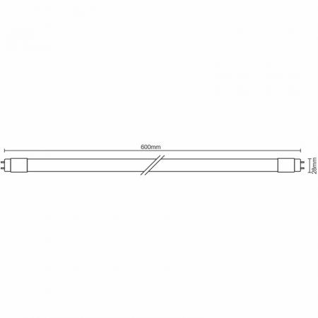 LED trubica 10W - T8/600mm/4100K - TLS221